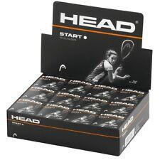 Head Start Squash Balls - Single White Dot - Box Of 12Head