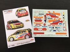 DECAL 1:43 SUZUKI SWIFT S1600 #3 J.VINYES / J.MERCADER-RALLYE PPE. ASTURIAS 2012
