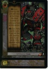 WH40K CCG Dark Millennium R82 Warlord Garzulk Foil MINT
