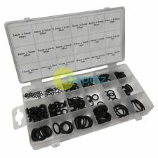 225Pc Rubber O Rings Assorted box Mixed Pack Of Metric O-Rings Tap Washers Seals