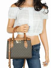Michael Kors MOTT MD Sachel Messenger Bag - Brown