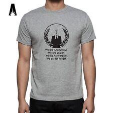 R 0005 ANARCHISM T-shirt Revolution Anarchist Symbol Anonymus Anarchy Freedom