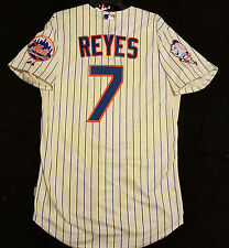 Majestic AUTHENTIC 60 4XL NEW YORK METS JOSE REYES COOL BASE MR MET PATCH Jersey