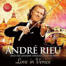 ANDRE RIEU & STRAUSS ORCHESTRA LOVE IN VENICE CD DVD