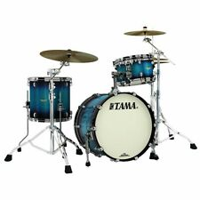 "Tama Starclassic Maple ma 30 cmbns-MEB Black Nickel 20""/12""/14"" Maple Electric"