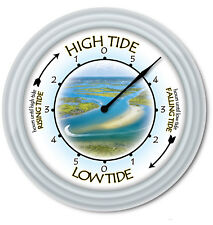 Tide Clock - Times Of High Low Tides - Boat Cumberland Island Georgia Coast GIFT