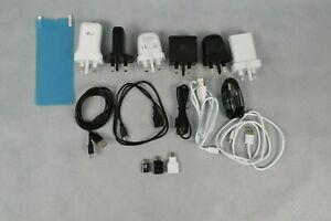 Job Lot Various Phone Accessories Charging Cables Plugs Adapters USB-C Micro USB