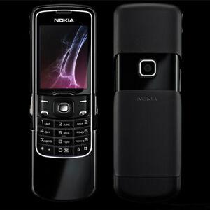 """Original Nokia 8600 Luna GSM 2G Camera Bluetooth 2MP 2.0"""" Unlocked Slide Phone"""