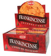 Hem Frankincense Incense Cones, Bulk Lot 3 Pack of 10 Cones = 30 Total Fresh