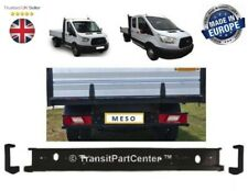 REAR BUMPER BAR+CAPS FITS FORD TRANSIT MK8 2014 ON PICK-UP CHASSIS TIPPER LUTON