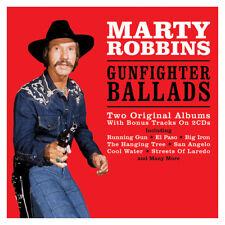 Marty Robbins GUNFIGHTER BALLADS + MORE GUNFIGHTER BALLADS New Sealed 2 CD
