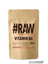 #RAW Vitamin B6 100g - Mood Cramp PMS Muscle Hormone Skin