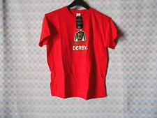 KENTUCKY DERBY 2016 / 142 OFFICIALLY LICENSED YOUTH MEDIUM T-SHIRT RED NWT