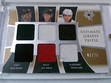Modano Parise Kane 2009-10 Ultimate Collection Triple Jersey /25
