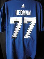 Tampa Bay Lightening HEDMAN #77 Men's Adidas Tee Shirt