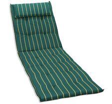 KMH® Sonnenliegen grün Auflage Polster Liegenauflage Sonnenliege Kissen Liege