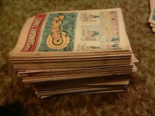 Vintage Old Newspaper Comics Books Inserts Sunday Daily Times 80's Lot of 135