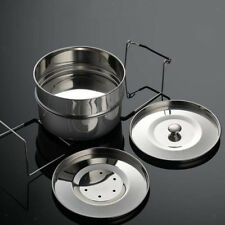 Instant Pot Food Insert Pan Steamer Baking Cooking Stackable Stainless Steel
