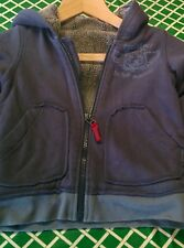 Marks and Spencer grey cardigan 4-5 years lined with hood