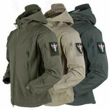 Mens Jacket Waterproof Winter Jackets Outdoor Tactical Coat Soft Shell Military