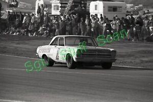 1966 NASCAR racing Photo negative Norm Nelson Plymouth Riverside, California.