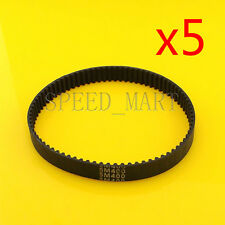 5 pcs 400-5M HTD Timing Belt 80 Teeth Cogged Rubber Geared Closed Loop 20mm Wide