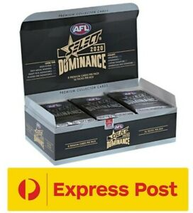2020 AFL SELECT Dominance Unsearched Factory Sealed Box 36 Packs EXPRESS POST