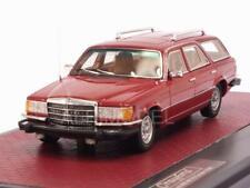 Mercedes 350SE W116 Crayford Estate 1977 Red 1:43 MATRIX MX11302-192