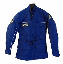 Never Worn Original BELSTAFF TRIALMASTER 500 Size 34 Royal Blue, Made in ENGLAND
