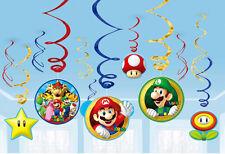 Super Mario Bros pendant Tourbillons enfants décoration de fête brillant coloré