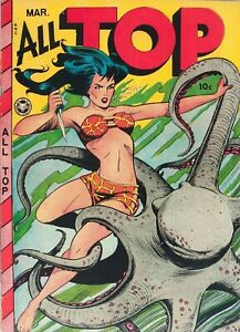 All-Top Comics #16 Photocopy Comic Book