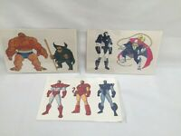 Marvel Comics Action Hour Vintage 1990's Animation Cel Sericel Iron Man Mint