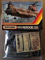 MATCHBOX PK-413 - BOEING VERTOL CHINOOK/HC Mk.1 CH-47D - 1/72 PLASTIC KIT NUOVO