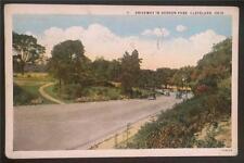 Driveway in Gordon Park, Cleveland, Ohio 1932 The Braun Art Publishing Co. 7