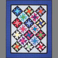 Rock Star Quilt Pattern - Cozy Quilt Designs
