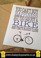 Carta Compleanno - You can't buy felicità, ma è possibile acquistare una bicicletta-FRANCO js0156
