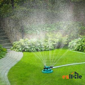 360° Rotating Garden Sprinkler Water Sprinkler Tool Grass Lawn Sprayer Watering