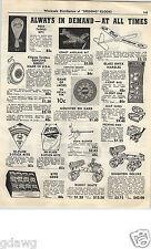 1952 PAPER AD Hi Flyer Kite Kites Glass Onyx Bag Bagged Marbles Goody Yoyo Yo Yo