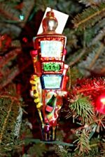 Christopher Radko Count Down to Years 2001 Blown Glass Ornament