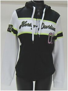 Harley Davidson Ladies Hoodie Size M-Medium Hoodie Multi Color  96160-14VW/000M