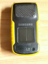 YELLOW UNLOCKED SAMSUNG RUGBY 1 SGH-A836 CELL PHONE ROGERS AT&T KOODO TELUS BELL