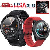 L15 Smart Watch IP68 Torch Light ECG PPG Blood Pressure Heart Rate Sport Fitness