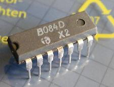 20x b084d Quad Operational Amplifier = tl084, hfo