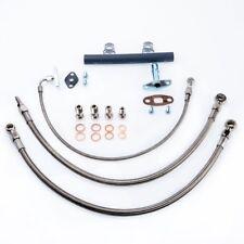 Turbo Oil Water Line Kit For Nissan RB20DET RB25DET w/ Garrett T3 (16mm Coolant)