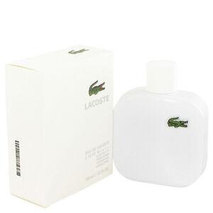Lacoste Eau De Lacoste L.12.12 Blanc Fragrance 3.3oz Eau De Toilette MSRP$77 NIB