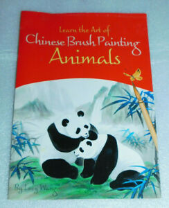 Learn Art Chinese Brush Painting Animals Lucy Wang Ancient Instruction Panda Cat