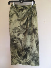 Silk Sarong Skirt Tropical one size fits all