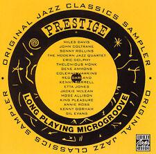 Prestige Sampler; 2002 CD, Jazz, Thelonious Monk, Bill Evans, Chet Baker, PROMO