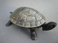 Antique Germany Hotel Bell Turtle Cast Iron