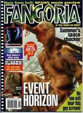 Fangoria 165 EVENT HORIZON Spawn LOST WORLD FX Rick Baker Makeup MEN IN BLACK LK